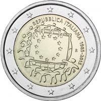 Image of Italy 2 euros commemorative coin