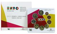 Obverse of Official Blister - World Expo KMS Set