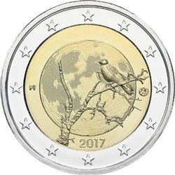 Obverse of Finland 2 euros 2017 - Finnish Nature