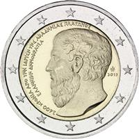 Image of Greece 2 euros commemorative coin