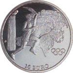 Olympic Torch Relay 2004 Silver coin C