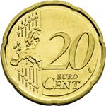 20 cents Common Side - Second Design
