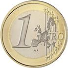 Photo of 1 euro coin