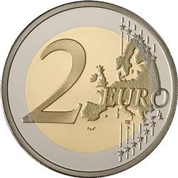 Reverse of Greece 2 euros 2007 - 50th anniversary of the Treaty of Rome