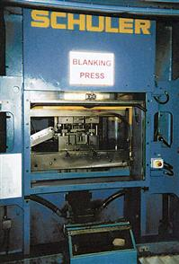 Photo of Blanking Press