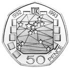 United Kingdom 50-pence coin
