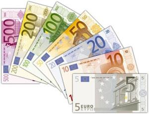 The 7 european bank notes