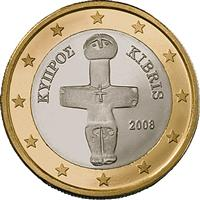 Image of Cyprus 1 euro coin
