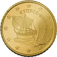Image of Cyprus 50 cents coin