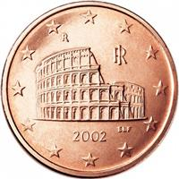 Image of Italy 5 cents coin
