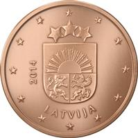 Image of Latvia 2 cents coin