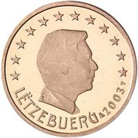 Image of Luxembourg 2 cents coin