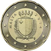 Image of Malta 20 cents coin