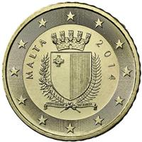 Image of Malta 50 cents coin
