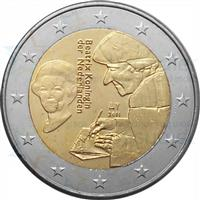 Image of Netherlands 2 euros commemorative coin