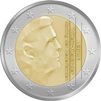Image of Netherlands 2 euros coin