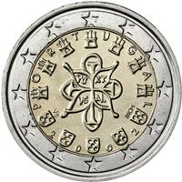 Image of Portugal 2 euros coin