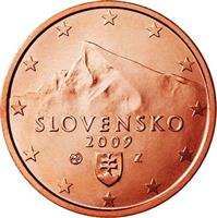 Image of Slovakia 2 cents coin