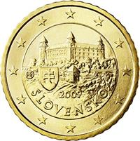 Image of Slovakia 50 cents coin