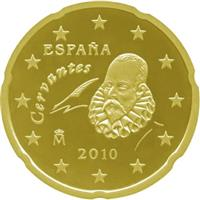 Image of Spain 20 cents coin