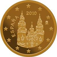 Image of Spain 2 cents coin