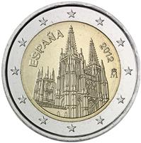 Image of Spain 2 euros commemorative coin