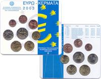 Obverse of Greek Official Blister KMS Set