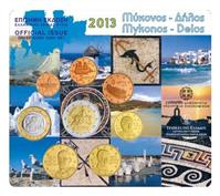 Obverse of Greek Mykonos - Delos KMS Set