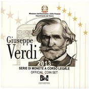 Obverse of Official Blister - Giuseppe Verdi KMS Set