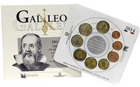 Obverse of Official Blister - Galileo Galilei KMS Set