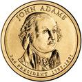 Adams Presidential Dollar
