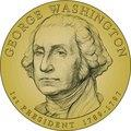 Presidential Dollars George Washington Coin
