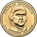 Jefferson Presidential Dollar