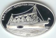 Liberia silver 10 dollars