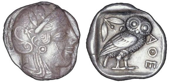 Antica Dracma ateniese