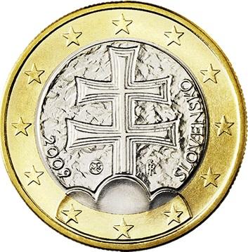 Slovakia 1 Euro 2009 Eur2166