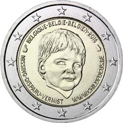 Obverse of Belgium 2 euros 2016 - Child Focus