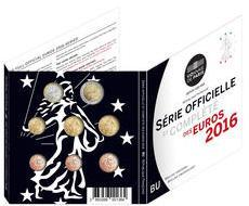 Obverse of France Official Blister 2016