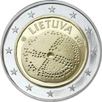 Image of Lithuania 2 euros commemorative coin