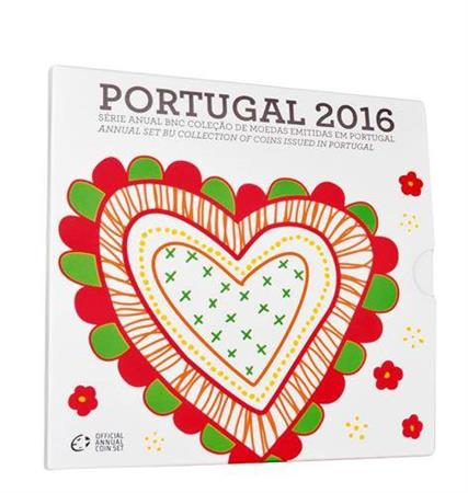 Obverse of Portugal Official Blister 2016