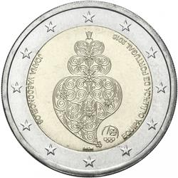 Obverse of Portugal 2 euros 2016 - Brazilian Summer Olympic Games