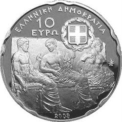 Obverse of Greece 10 euros 2008 - Acropolis Museum