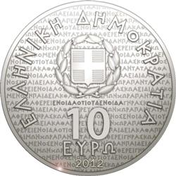 Obverse of Greece 10 euros 2012 - Socrates