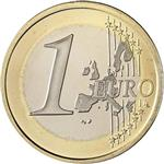1 euro Common Side - First Design