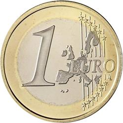 Reverse of Greece 1 euro 2002 - Owl