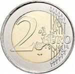 2 euros Common Side - First Design