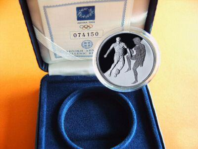 Obverse of Greece 10 euros 2004 - Soccer - Series F