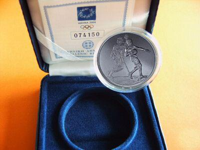 Obverse of Greece 10 euros 2004 - Handball - Series F
