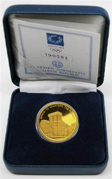 Obverse of Greece 100 euros 2003 - Palace of Minos at Knossoss - Series A