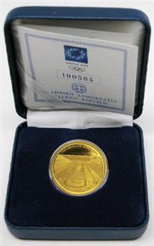 Obverse of Greece 100 euros 2003 - Panathenean Stadium - Series C